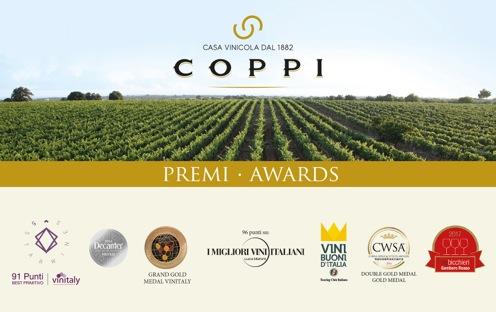 small premi Casa Vinicola Coppi