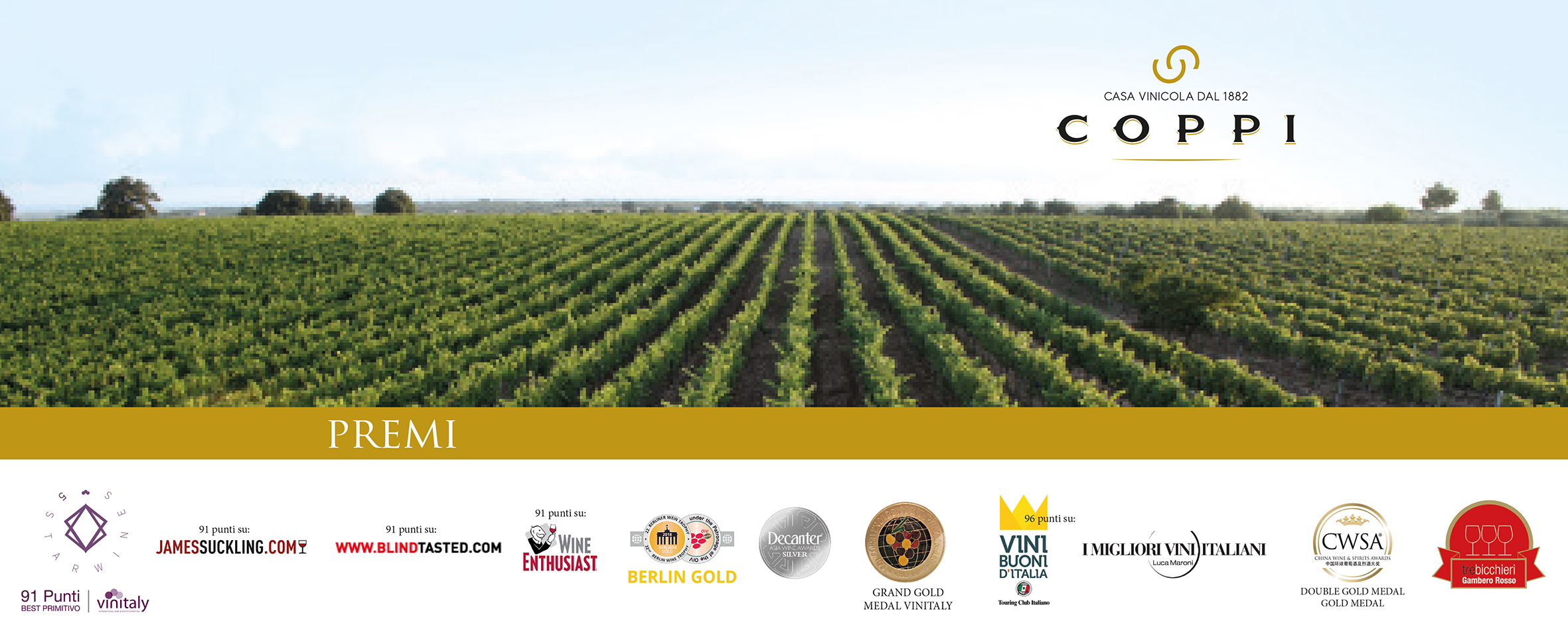 Coppi wine awards